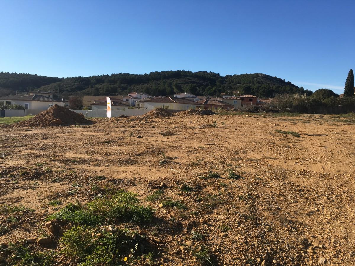 Narbonne terrain à bâtir de 611 m² hors lotissement