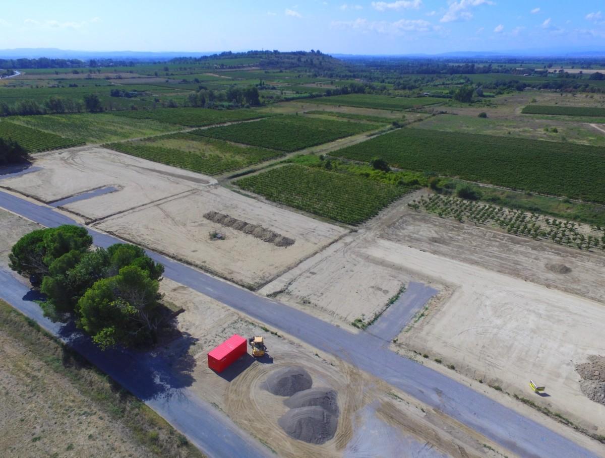 SM aménagement - Terrain à bâtir à Salles d'Aude